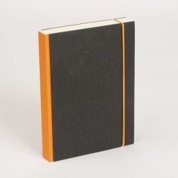 Notizbuch PURIST orange | DIN A 4, 96 Blatt blanko