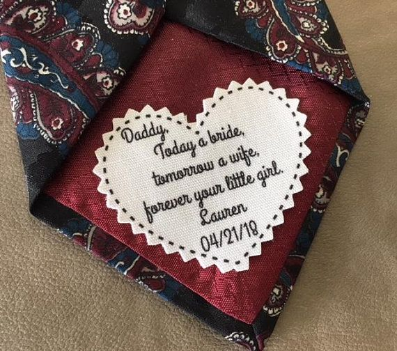 Tie Patch, Choose Message And Font