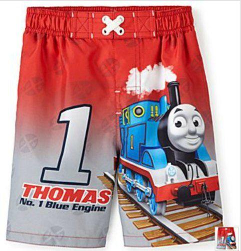 f1fc15558e Thomas The Train Swim Trunks | Thomas the train | Toddler swimming ...