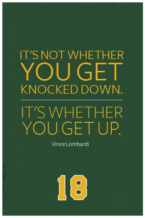 Vince Lombardi Quote On Print See More At Www