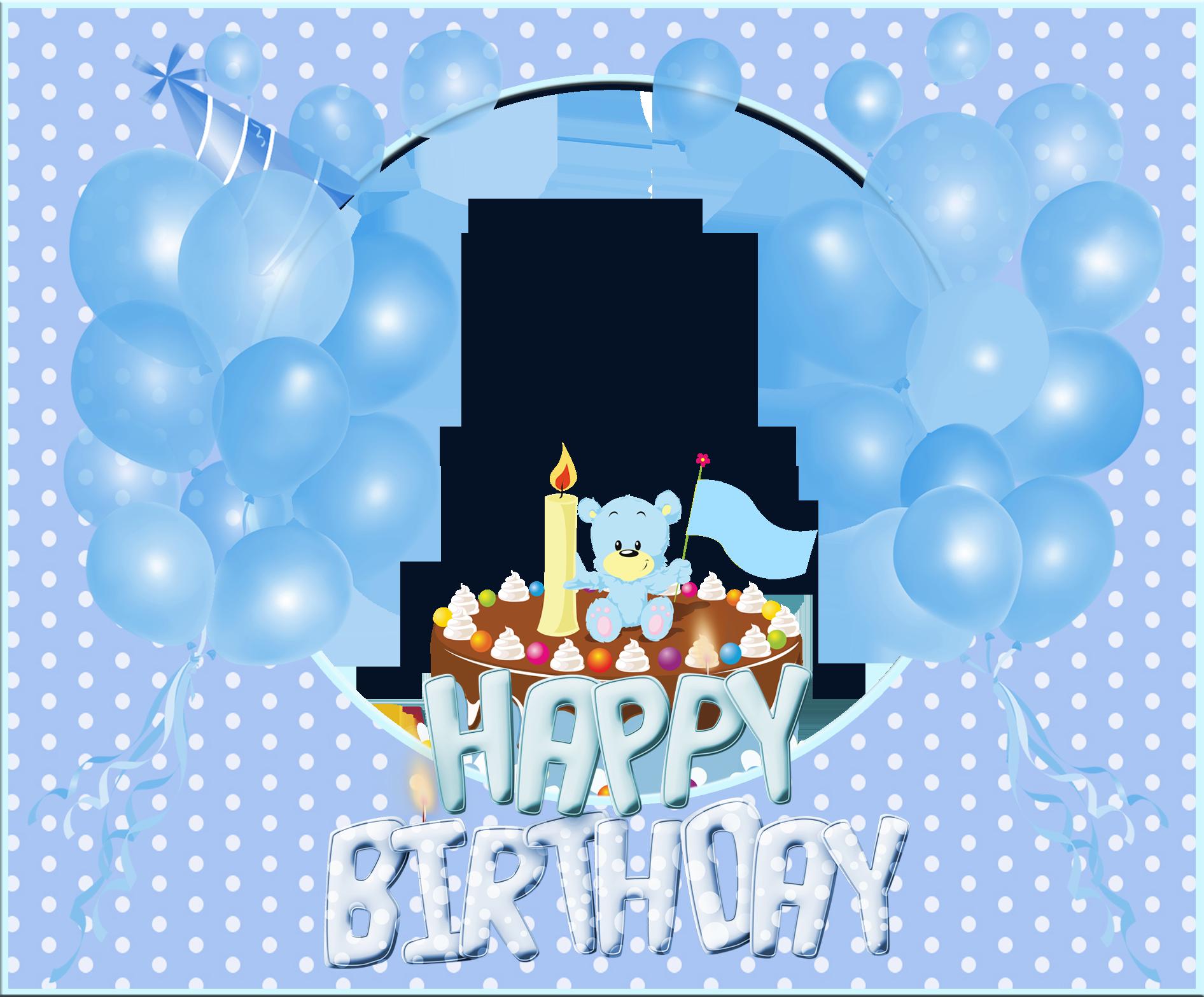 Happy Birthday Card Png ~ Happy birthday frame png cerca con google invitations pinterest and birthdays