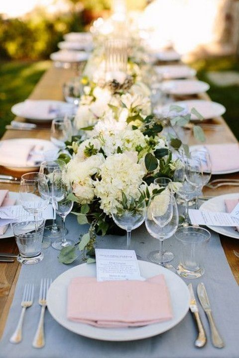 38 dusty blue and blush wedding ideas wedding wedding blue rh pinterest com