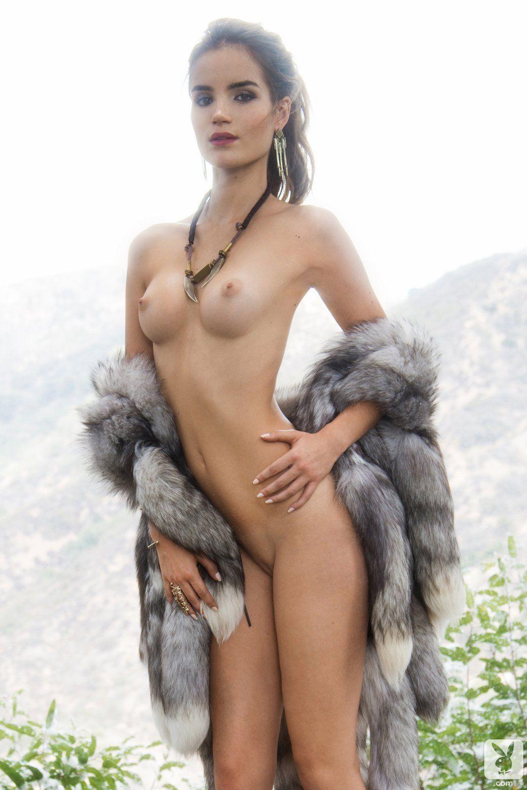 playboy naked in fur