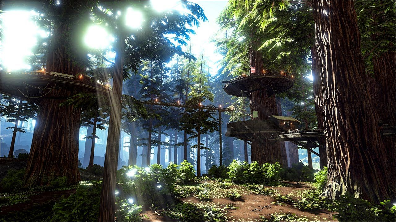 The Redwood Biomes Update and Titanosaur : Ark Survival