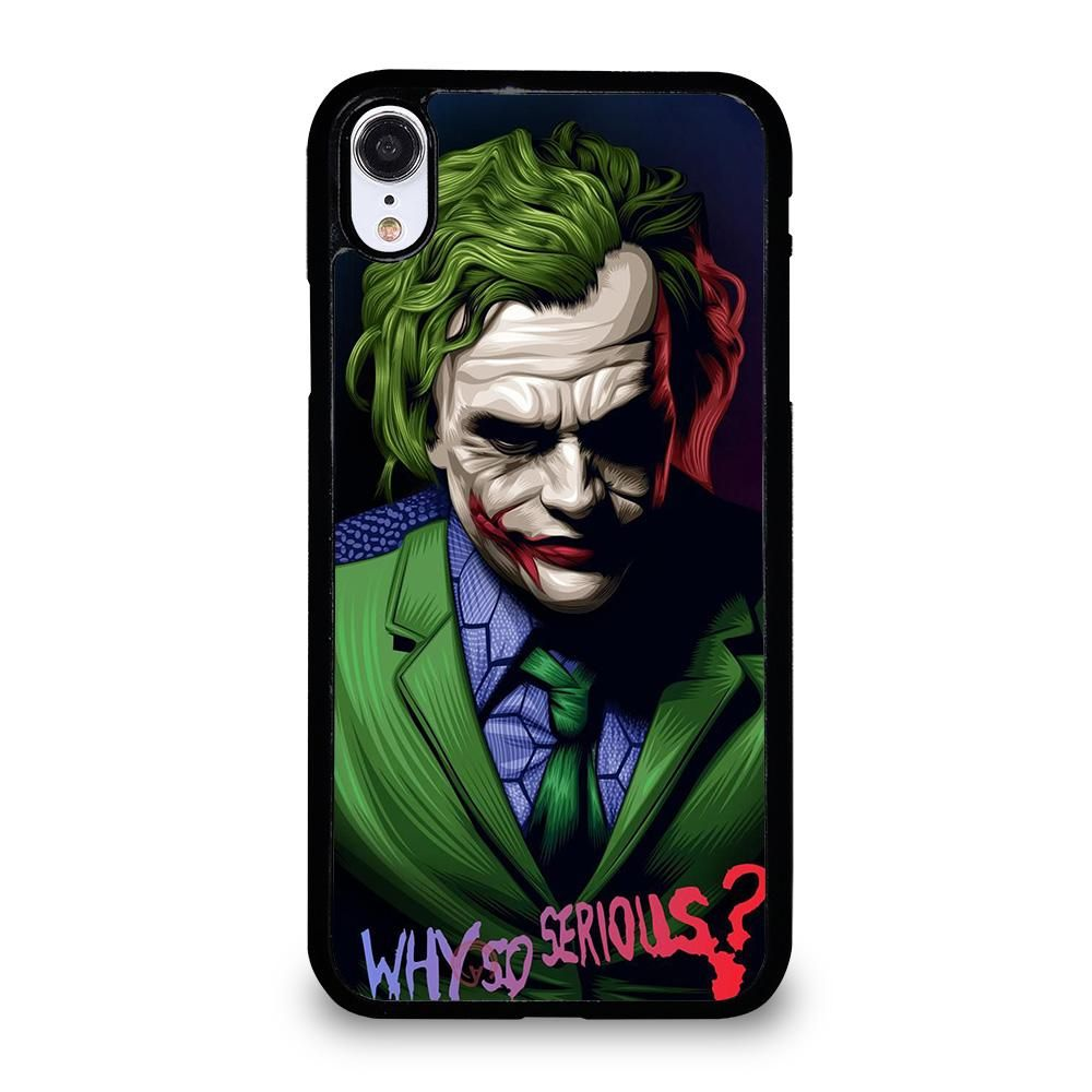 JOKER WHY SO SERIOUS iPhone XR Case Cover