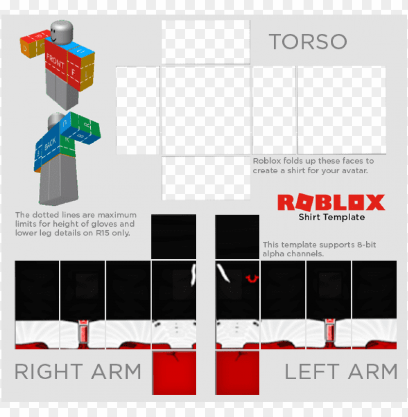Roblox Templates Png Image With Transparent Background Png Free Png Images Roblox Roblox Shirt Create Shirts