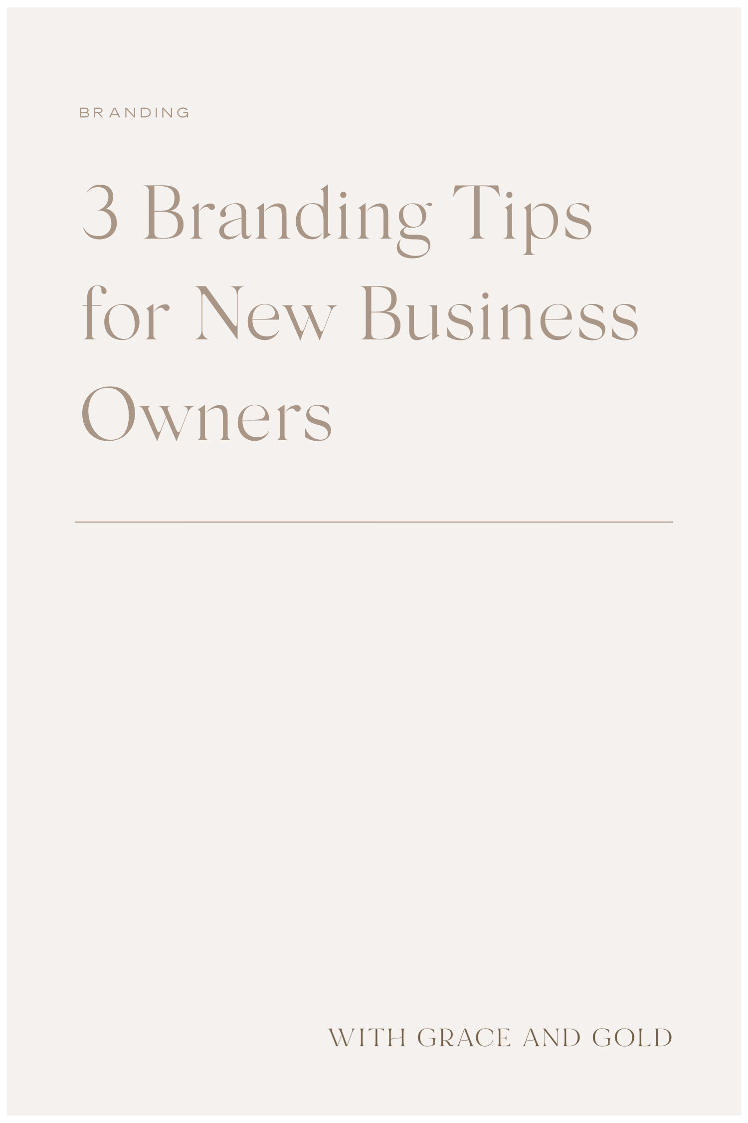 3 Branding Tips For New Business Owners In 2020 Small Business Branding Branding Business Branding Inspiration
