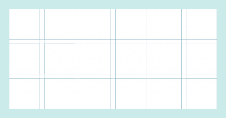 A Quick Look At Types Of Grids For Creating Professional Designs In 2020 Grid Graphic Design Grid Design Layout Design