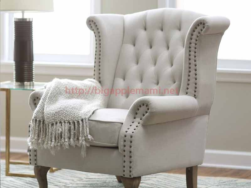 Nice Stuffed Chairs Living Room Mebel Kursi Dan Desain Interior