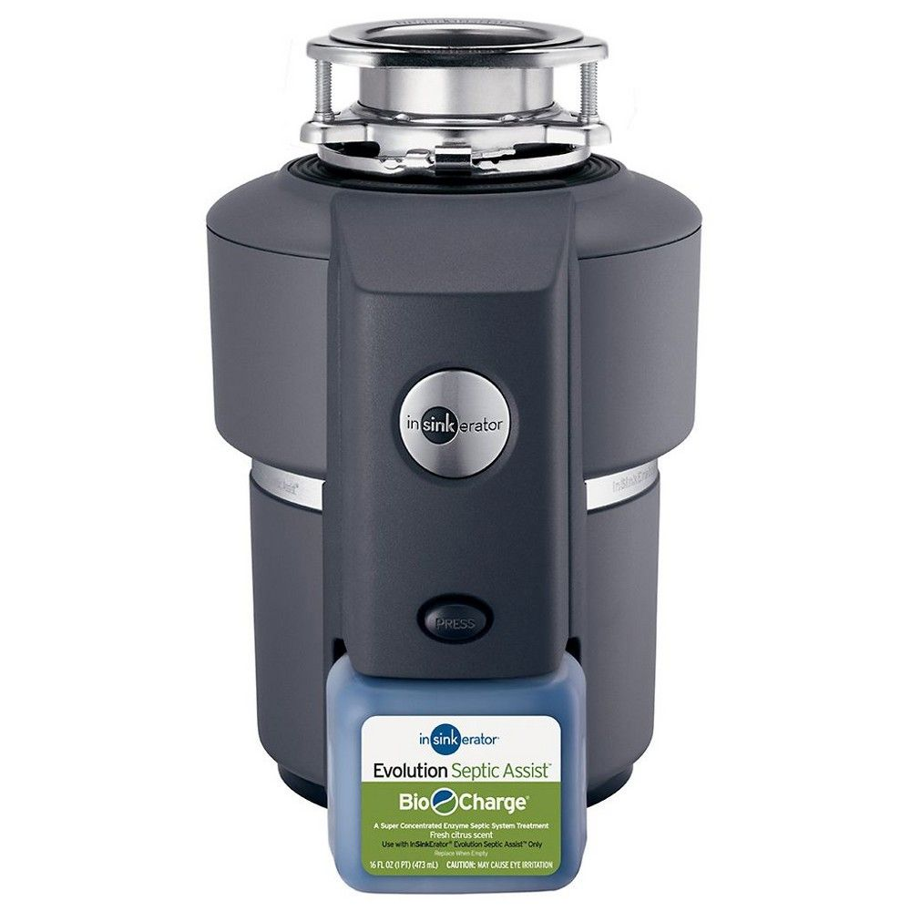 InSinkErator Evolution Septic Assist 3//4HP Kitchen Household Garbage Disposal