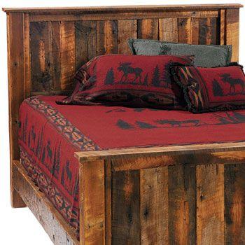 Barnwood Traditional Headboard By Fireside Lodge Furniture