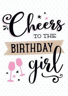 gefeliciteerd birthday girl