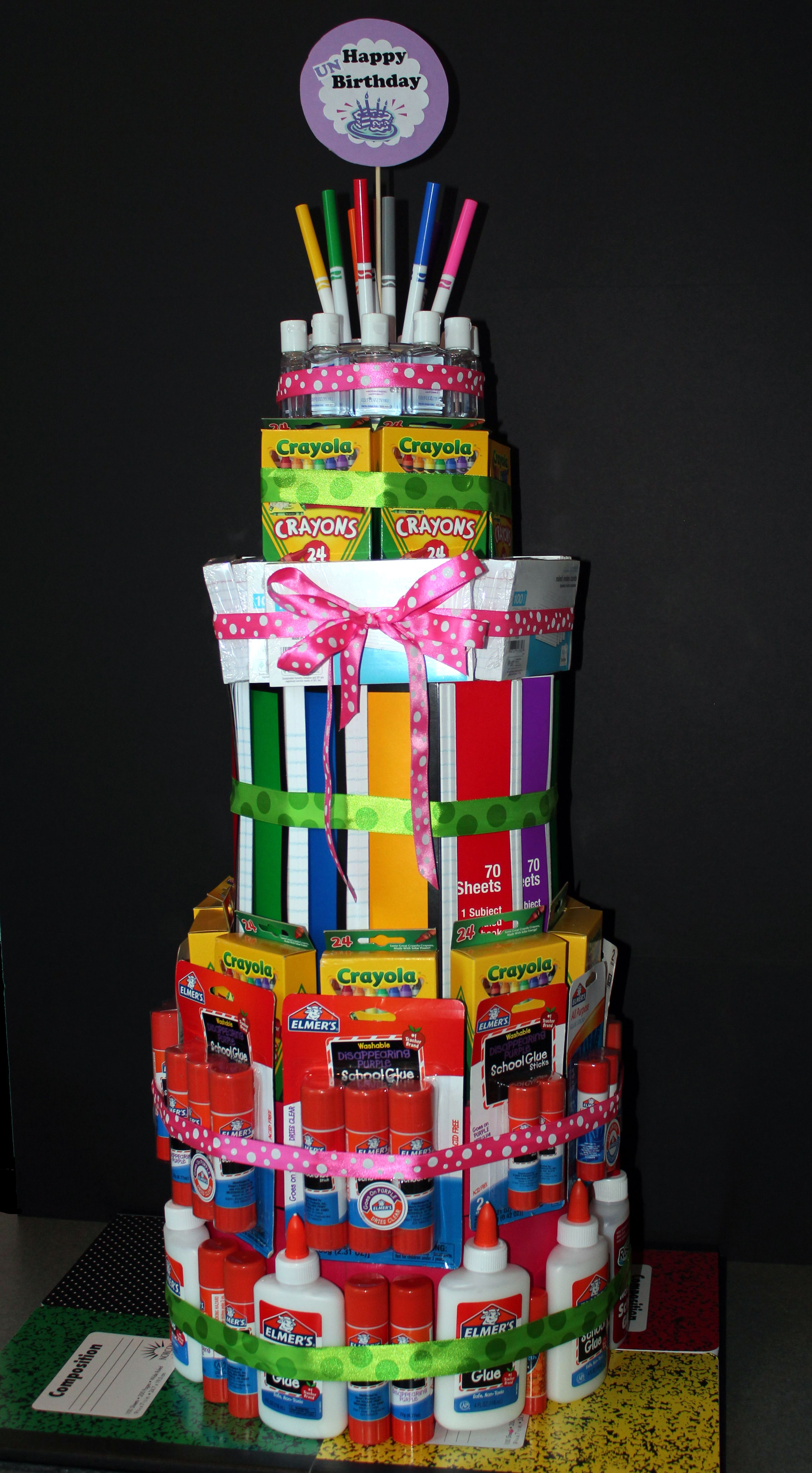 Okay So There Are A Lot Of School Supply Cakes Out There