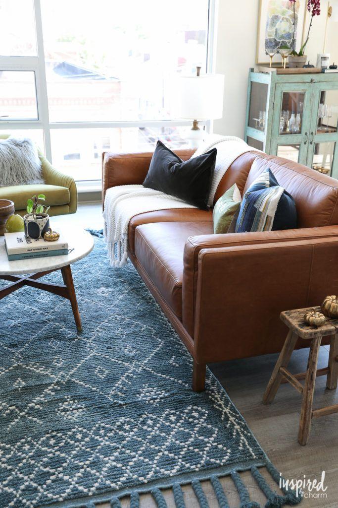 Choosing a Rug For My Apartment Living Room - modern loft ...