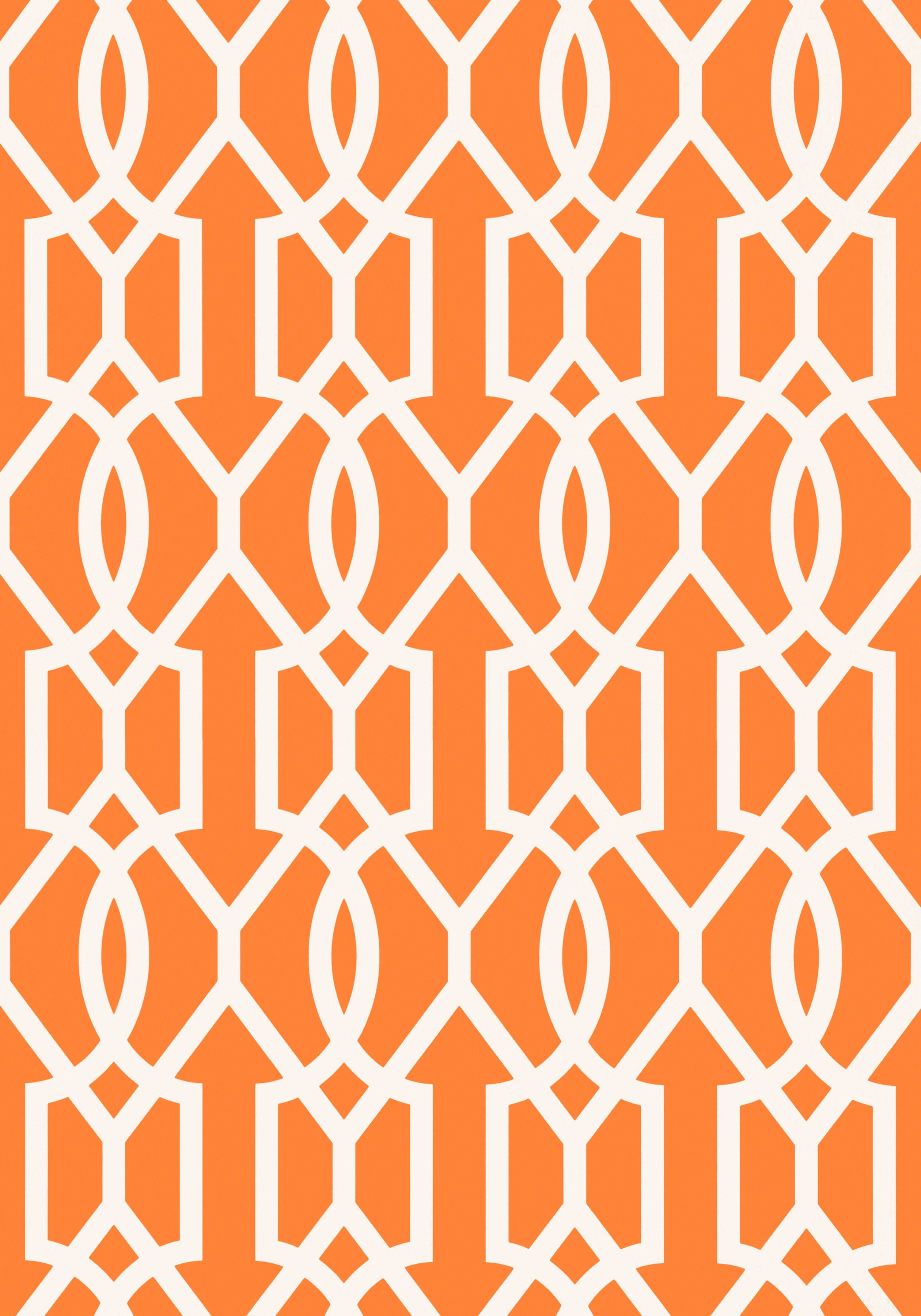 Downing Gate Tangerine T16049 Collection Resort From