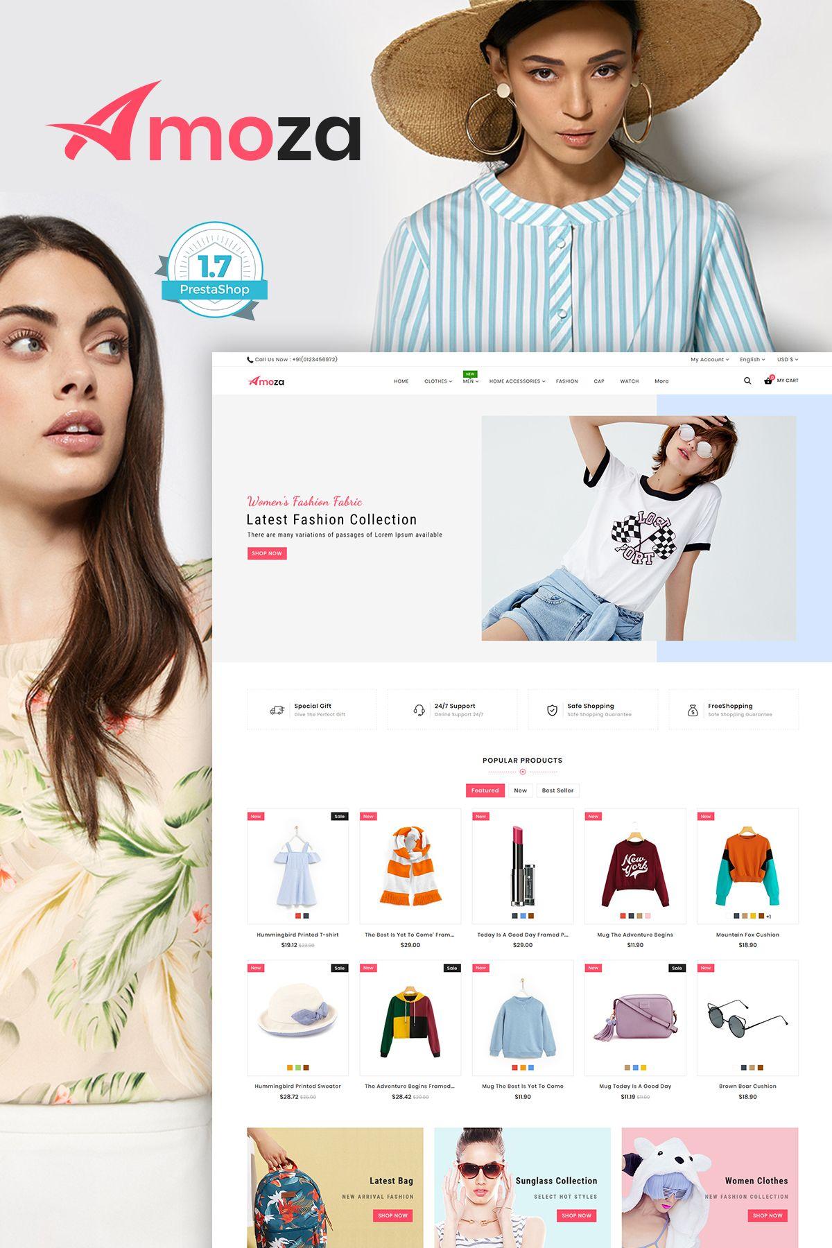 Amoza amoza - the fashion store template | general | fashion