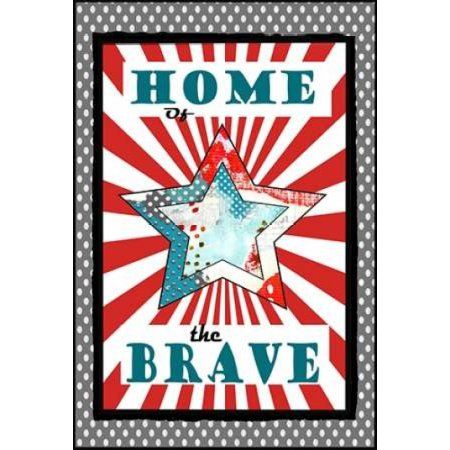 Home of the Brave Canvas Art - Sarah Ogren (20 x 28)