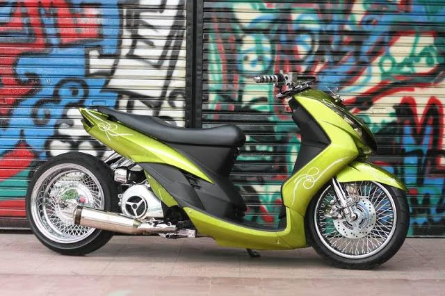 Modif Mio Minimalis Super Bikes Custom Moped Scooter Custom
