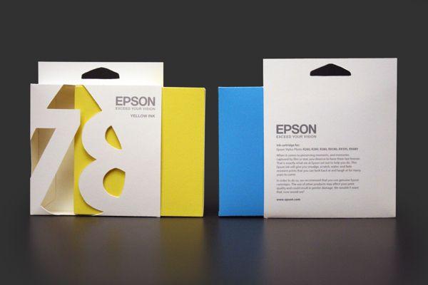 Epson Ink Cartridge Packaging on Behance