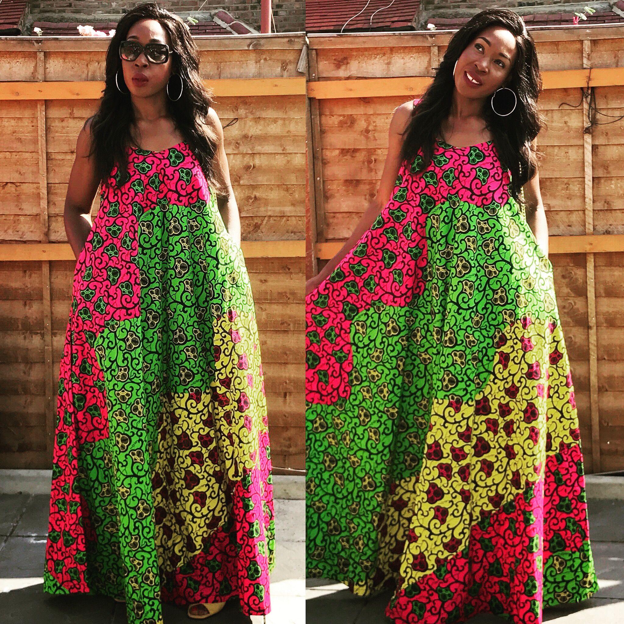 Robe Africaine: My Ankara Maxi Dress From T4turbanchic.com