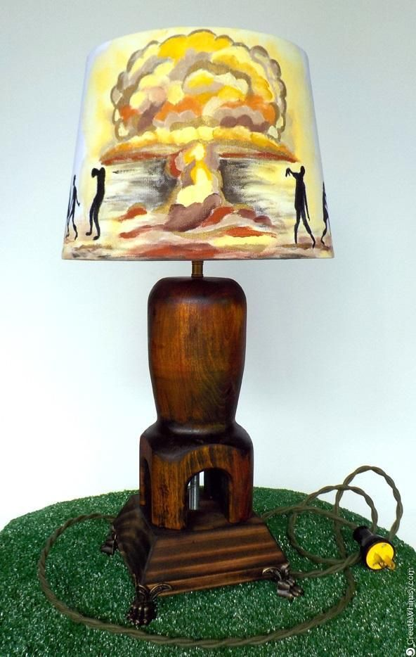 Zombie Lamp By Chaos Woods. Www.createwhimsy.com