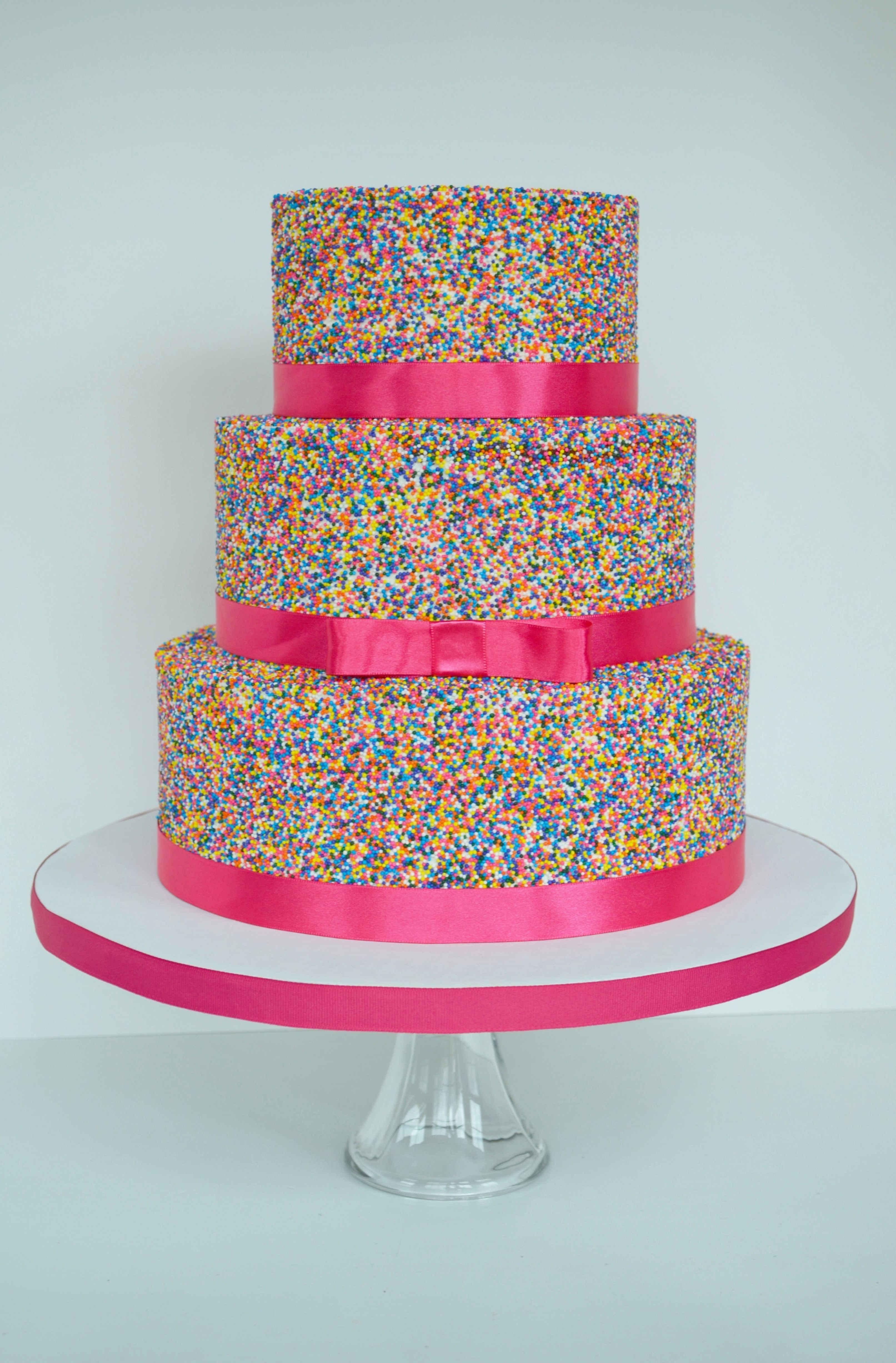 Pink Sprinkle Cake for Catlin Pinterest Sprinkles 18th