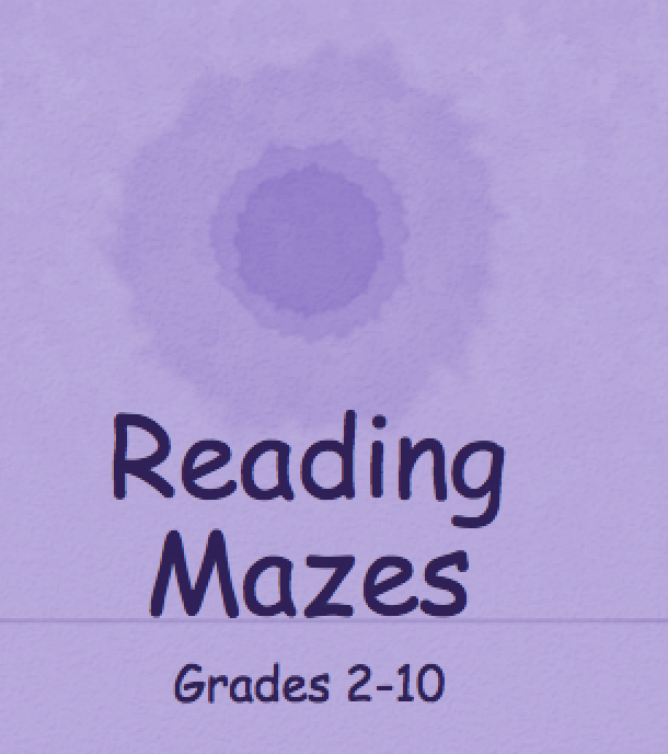 It's just a picture of Printable Maze Reading Passages with regard to 5th grade