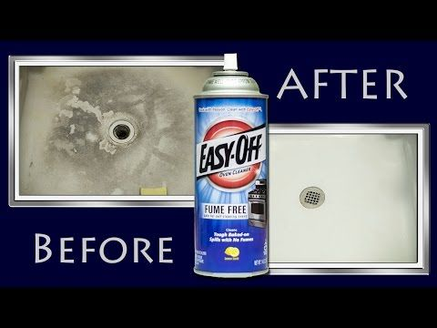 How To Make A Shower Floor White Clean Again With Oven Cleaner Oodness Where
