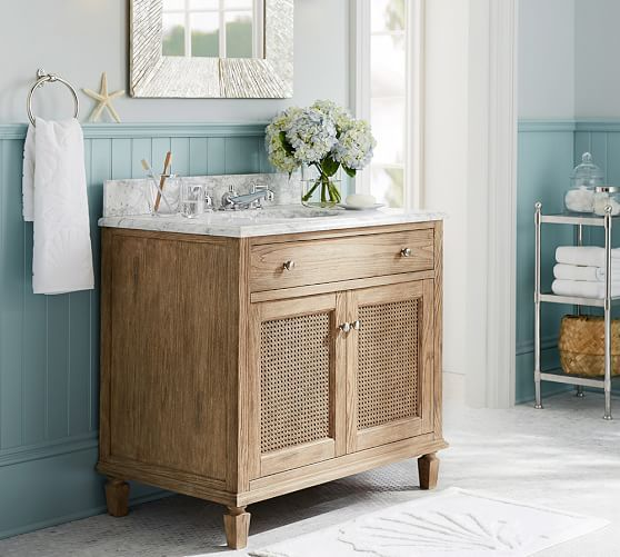 Sausalito Single Wide Sink Console Single Sink Vanity Bathroom Interior Design Contemporary Living Room Furniture