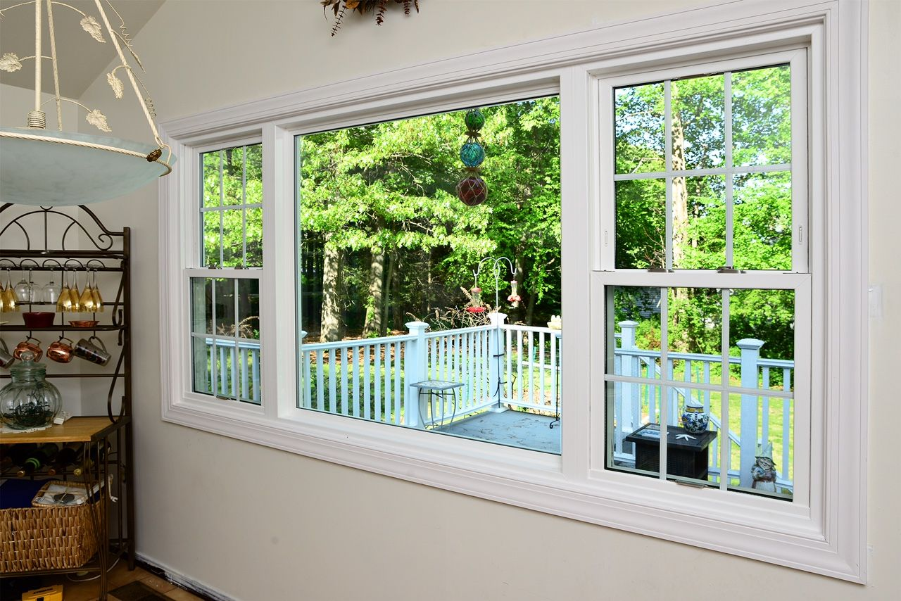 This A Window From Okna Company Window Model Envirostar 800 Series Deluxe This Window Consists Of 2 Double Hung Windo Windows Double Hung Windows Siding Cost