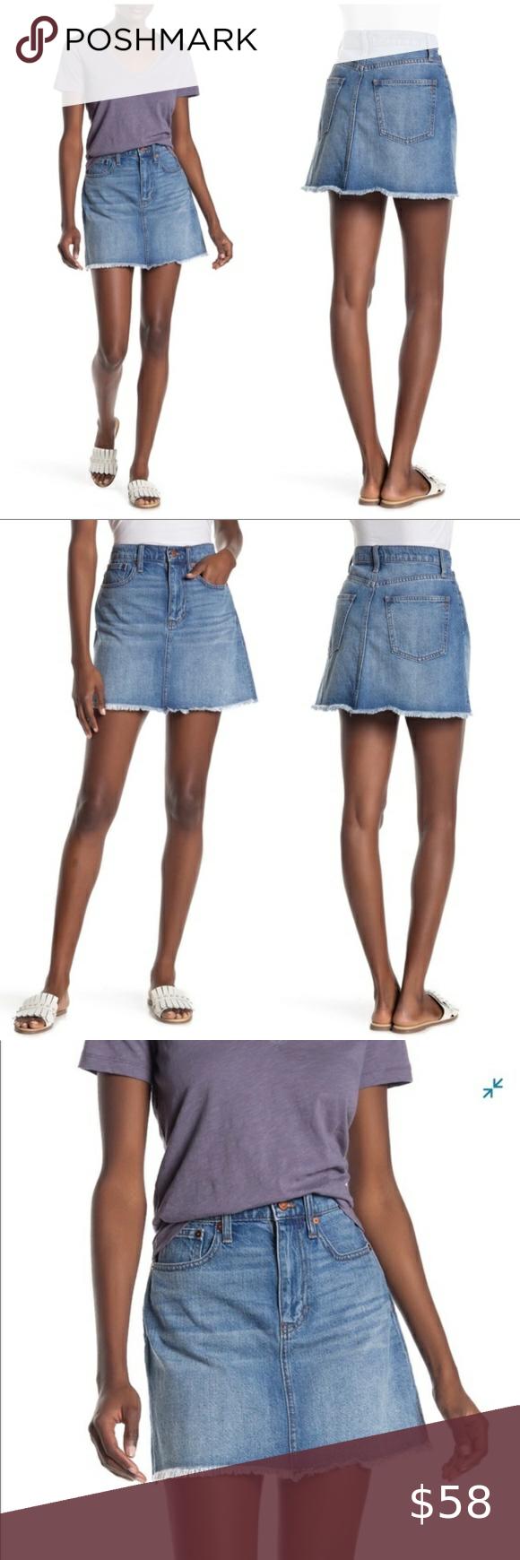 Mini skirts size 33 Madewell Mccarren Denim Mini Skirt Size 33 Mini Skirts Denim Mini Skirt Skirts