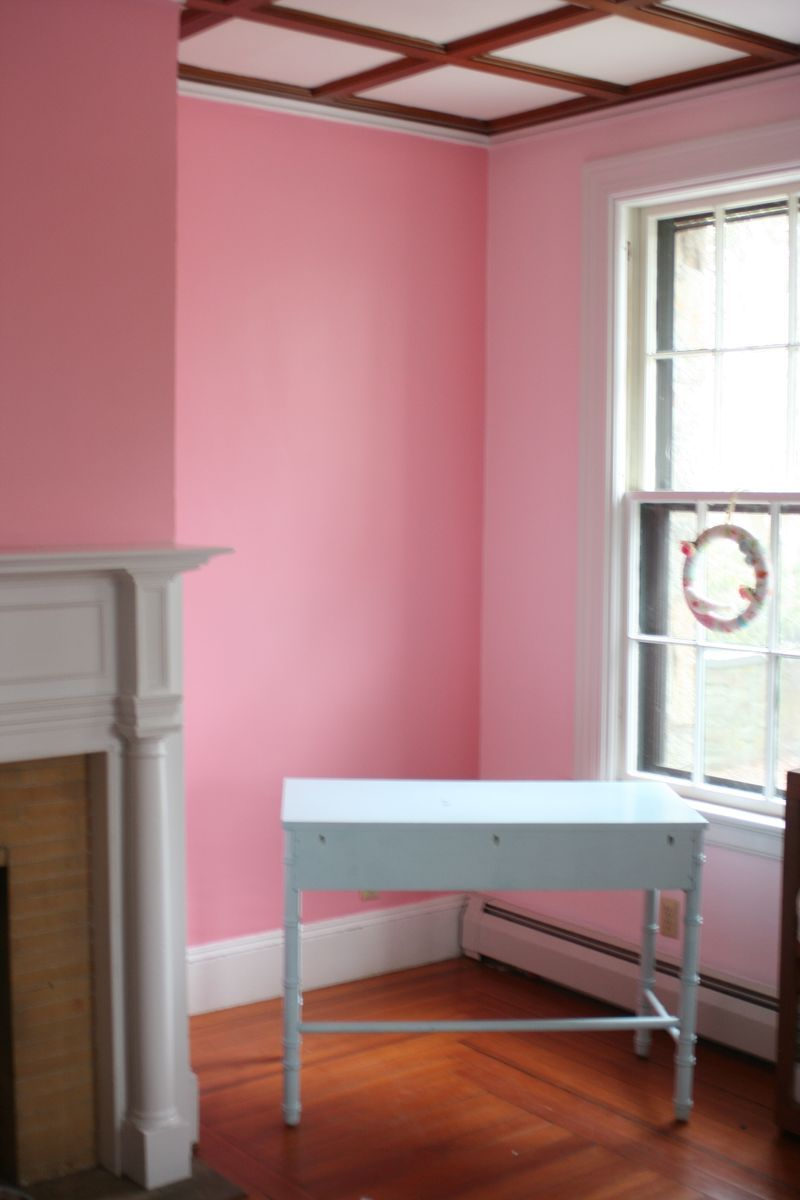 Pink Knitting Room | Dream Home | Pinterest | Valspar paint colors ...