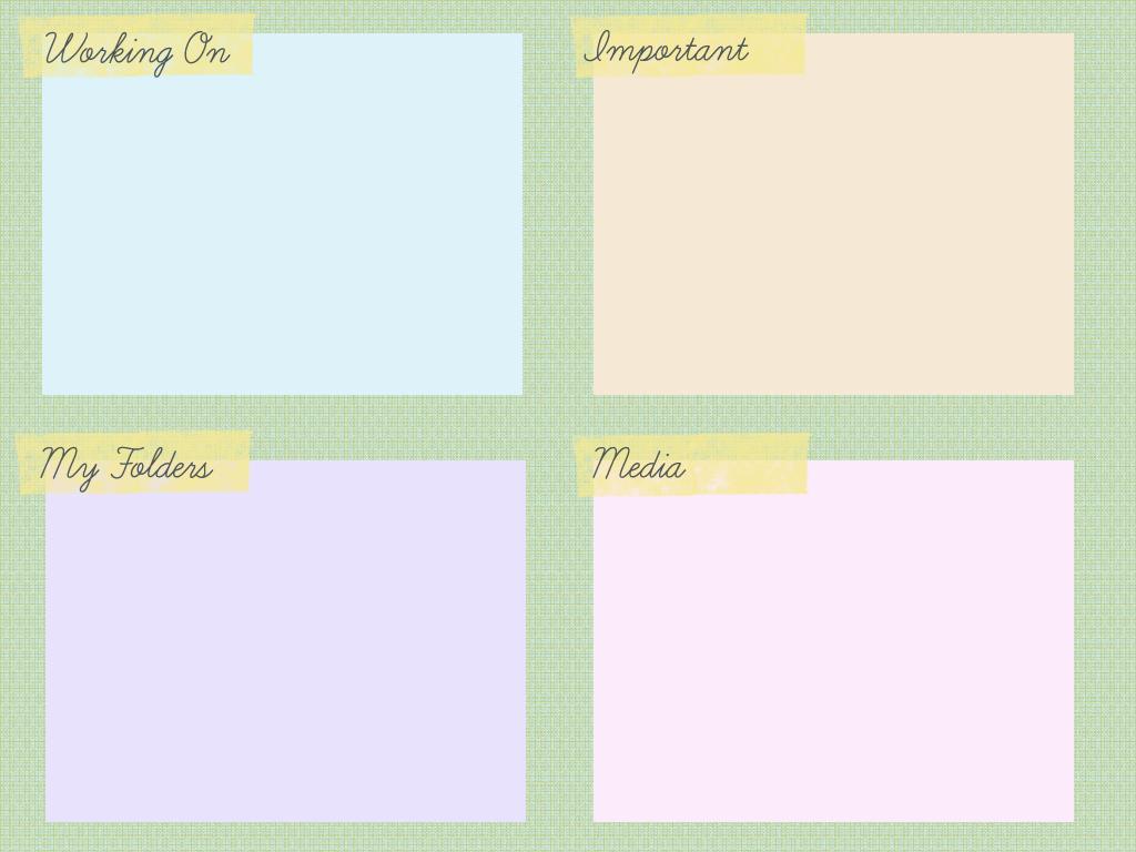 Wall Paper Organizer desktop organizer wallpaper | digital desktop organizers