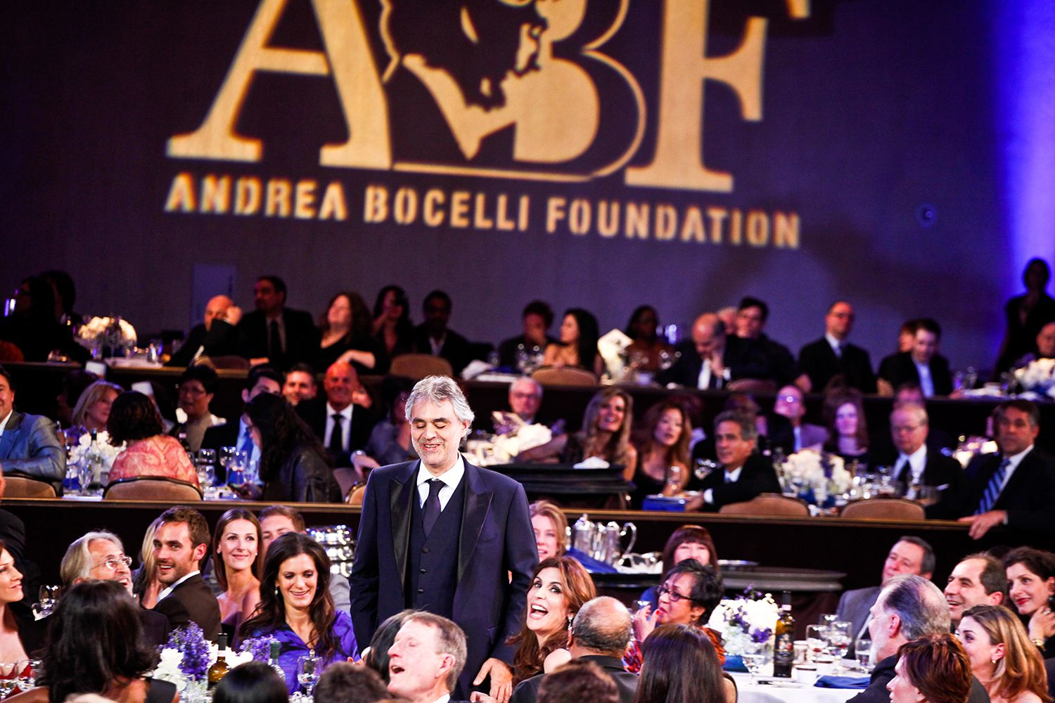 Lunch of the ABF - Andrea Bocelli