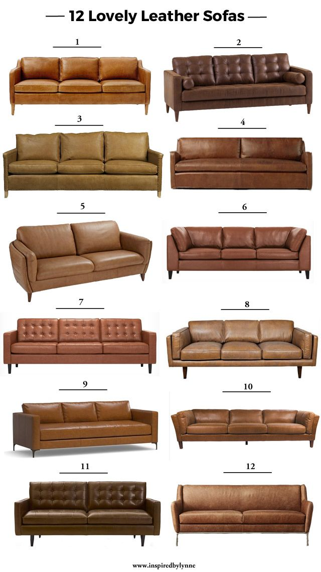 12 Lovely Leather Sofas Leather Couches Living Room Living Room Decor Colors Living Room Sofa Design