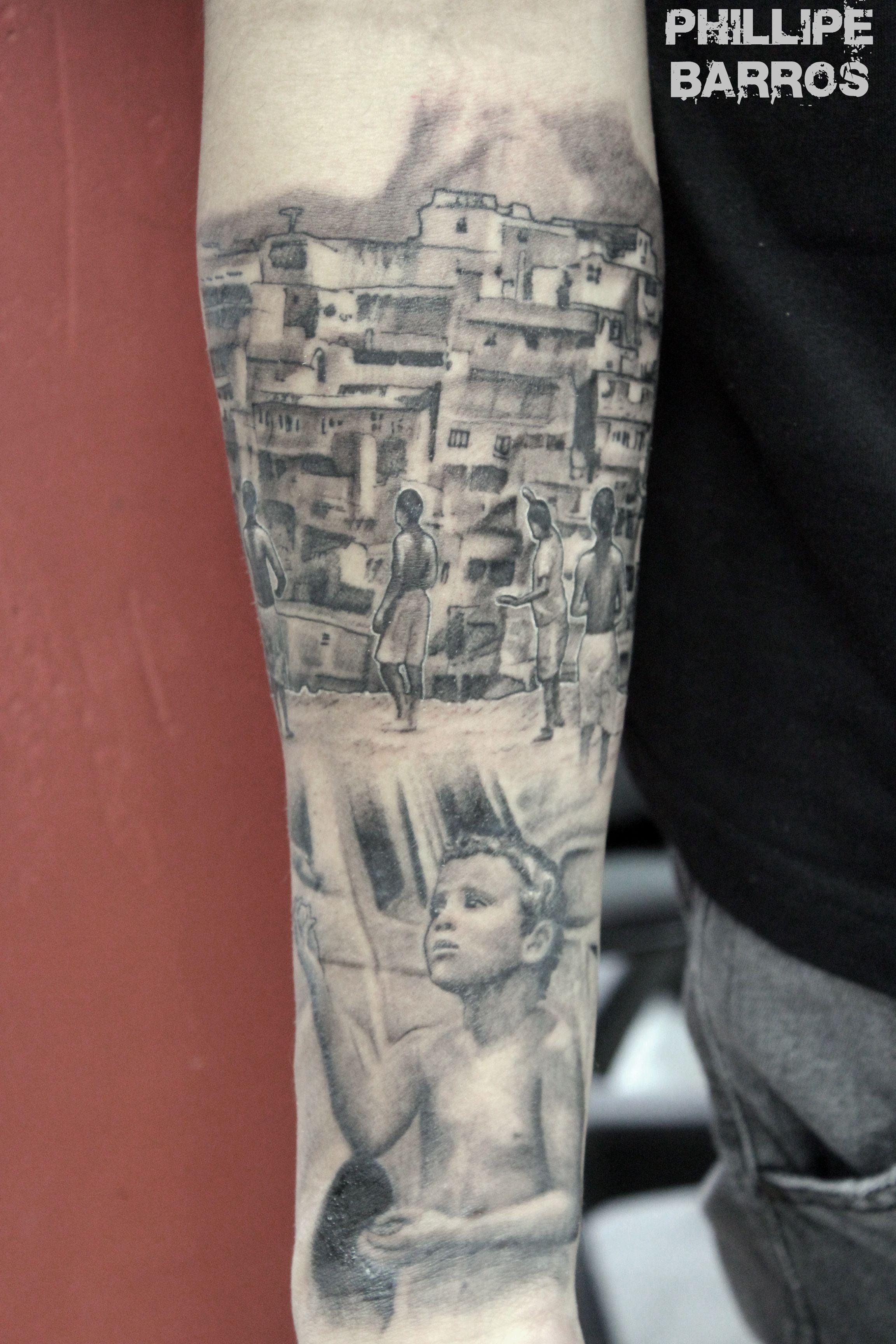 Favela Rio De Janeiro Por Phillipe Barros Preto E Cinza