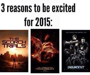 well, insurgent sucked, the trailer for scorch trials is soooooo inaccurate and I AM NOT READY FOR THE HUNGER GAMES FRANCHISE TO BE OVER.
