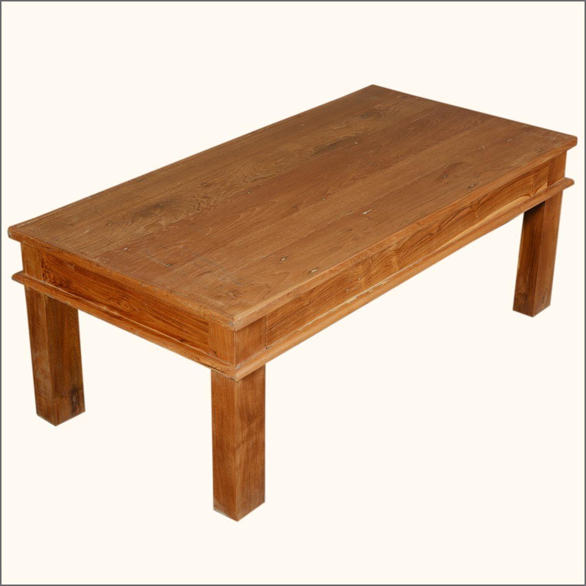48 Solid Teak Wood Danish Rustic Coffee Table Rustic Coffee Tables Coffee Table Teak Wood [ 1200 x 1200 Pixel ]