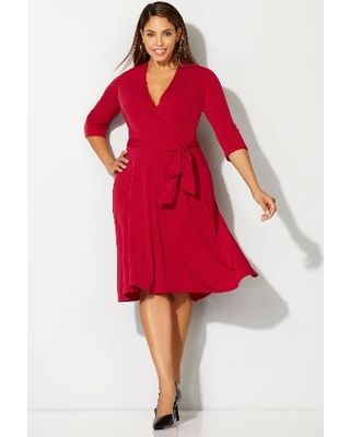 17 Best images about Avenue plus size dress on Pinterest | Wrap ...
