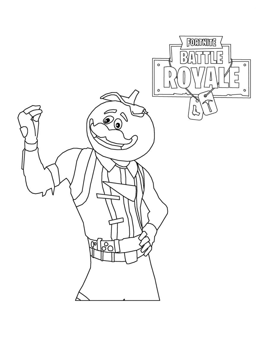 Printable Colouring Pages Fortnite Print Fortnite Battle