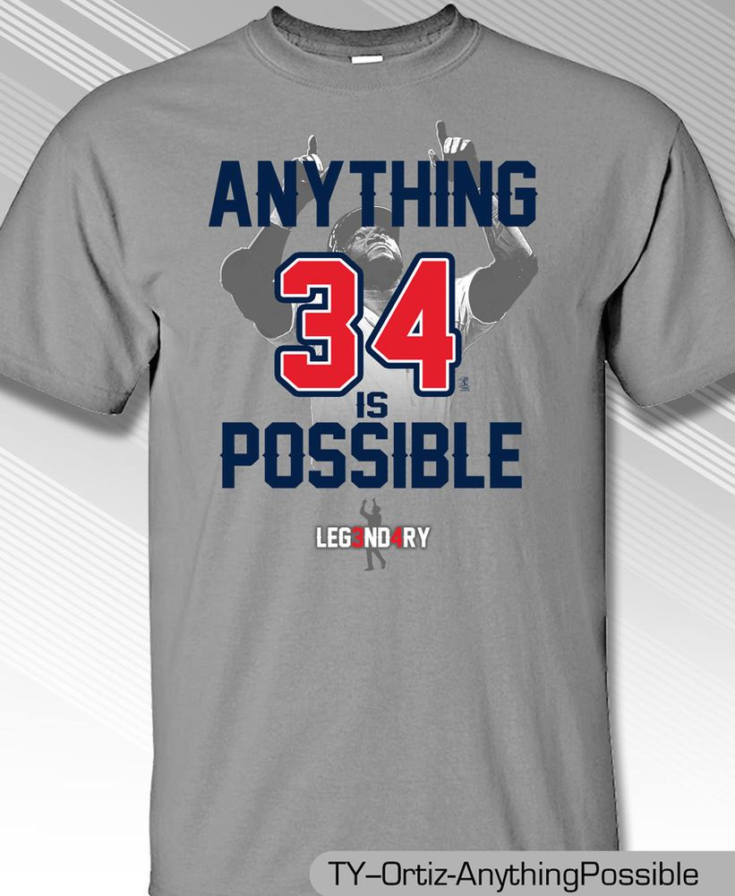 online retailer b1707 12541 David Ortiz Retirement Shirt, Boston Red Sox Legend ...