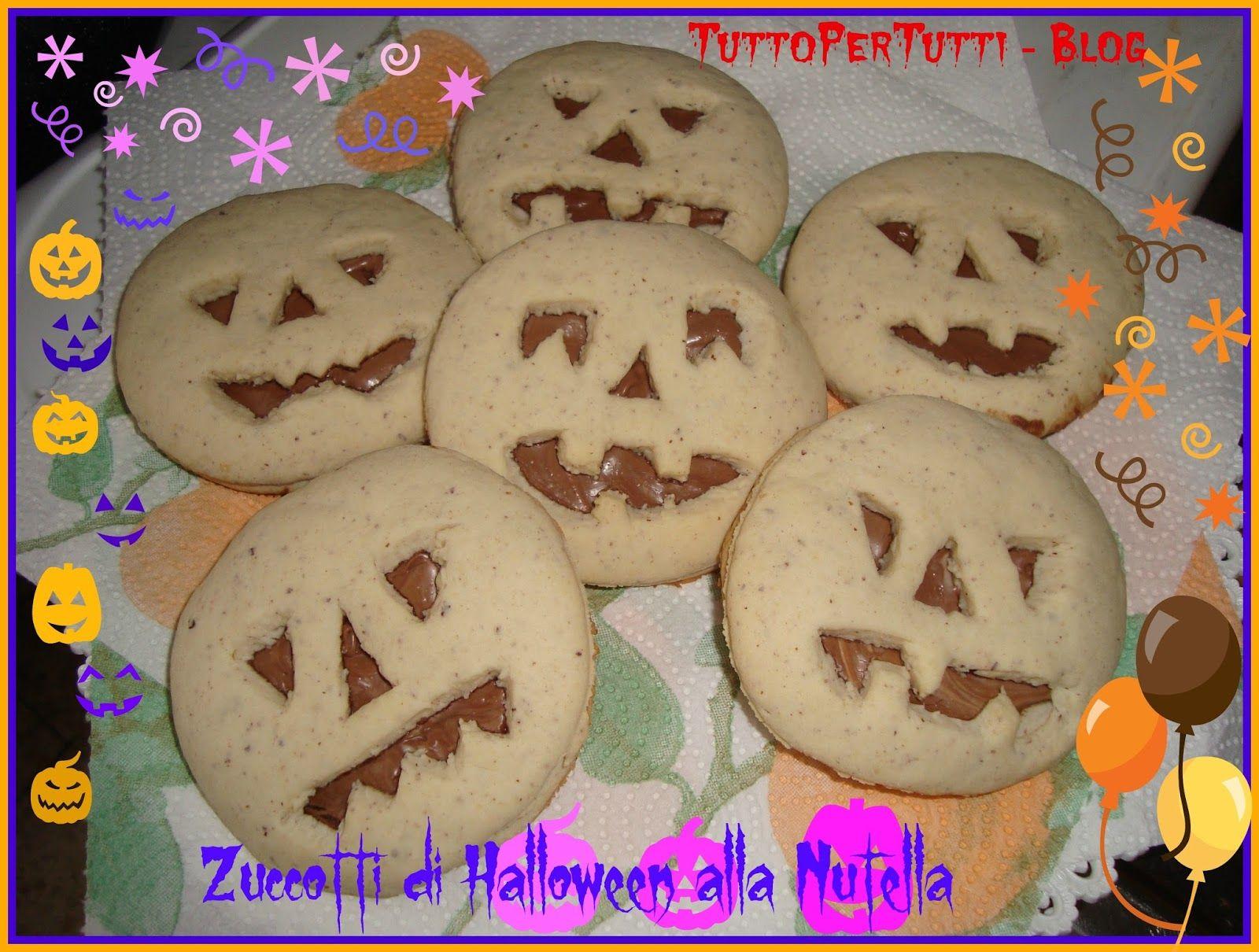 ZUCCOTTI ALLA NUTELLA Speciale Halloween Nutella