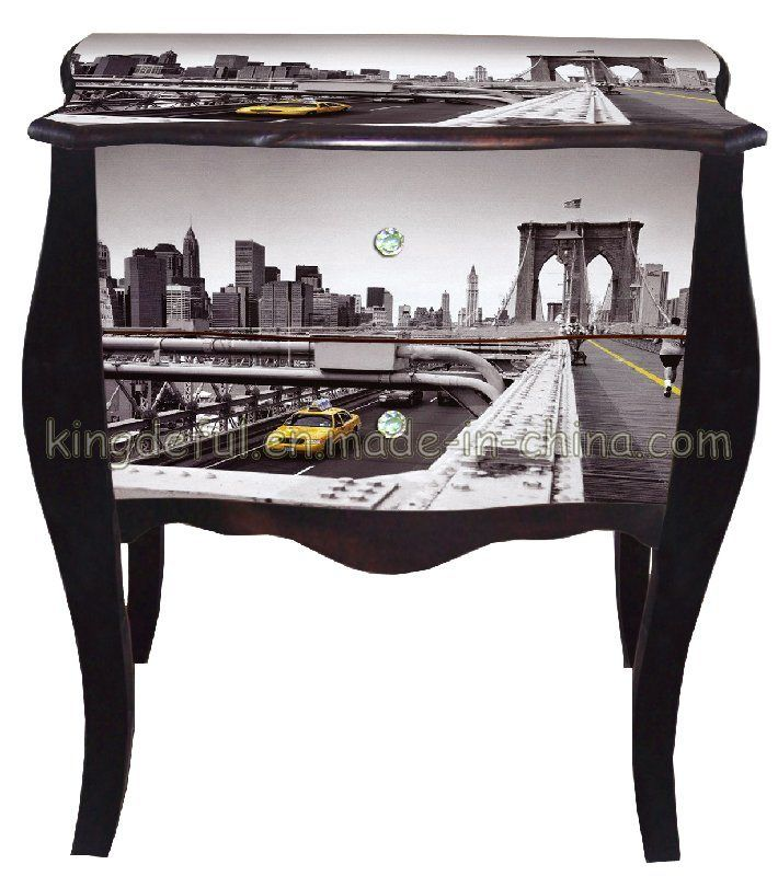 Wood Cabinet (SUE09)