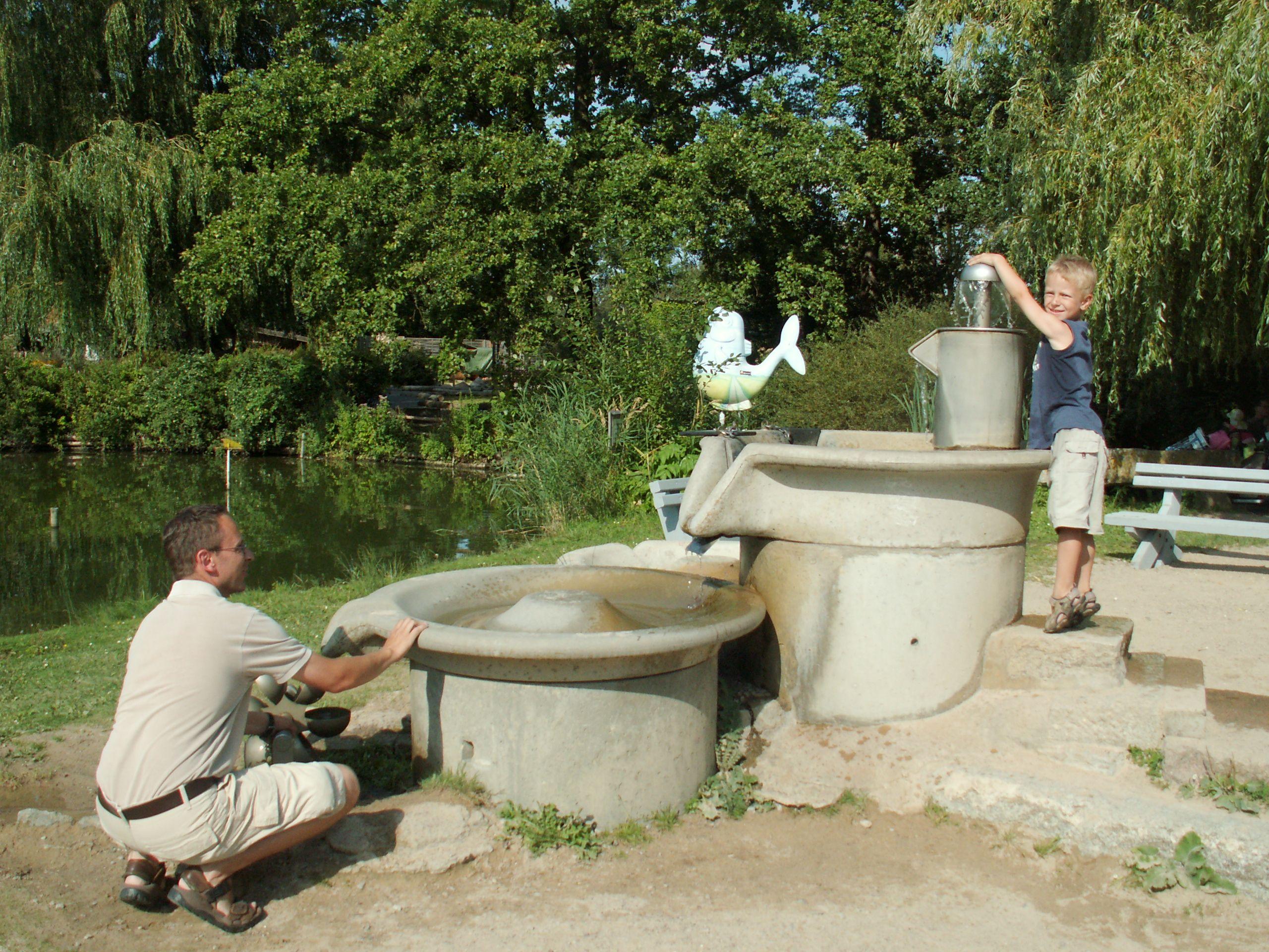 Great Wasserspiele im Tierpark Greifswald