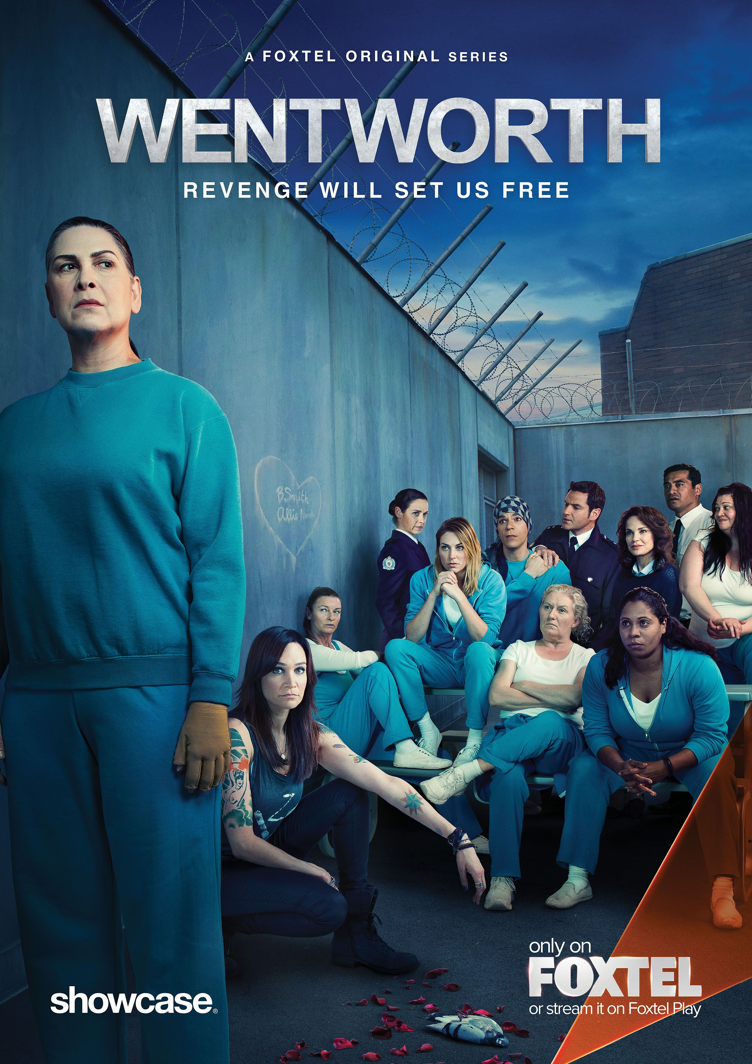 Pin By Lesweldster On Wentworth Poster Wentworth Prison