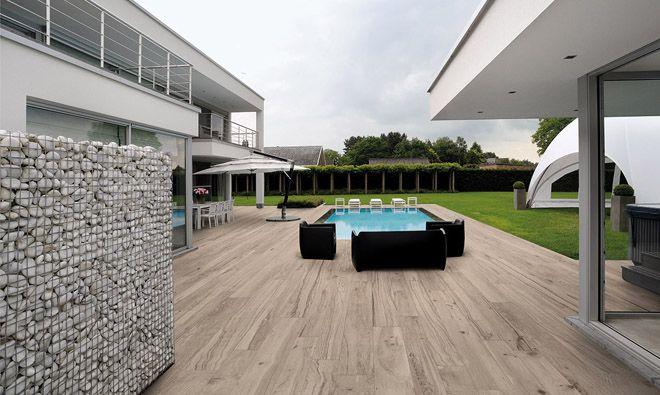 Carrelage terrasse extérieure Smokewood Pepper Bitaille Pinterest