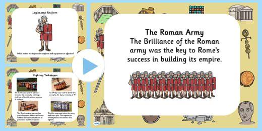 Roman soldier homework help