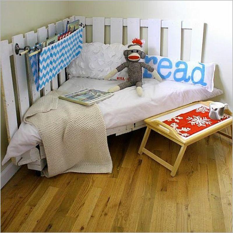 Aus Europaletten Eine Leseecke Im Kinderzimmer Gestalten
