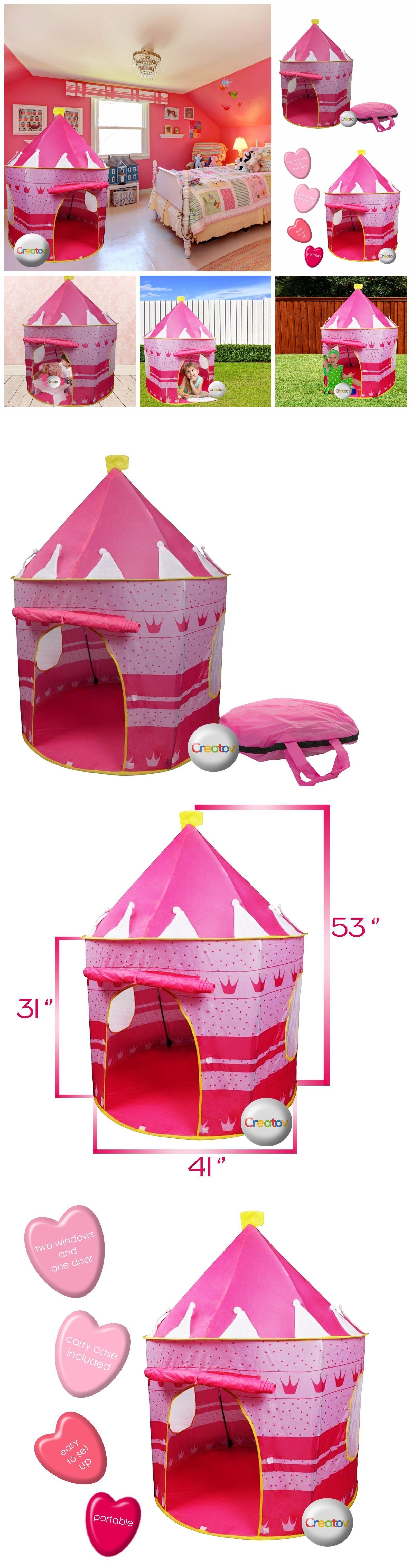 Play Tents 145997 Fairy Princess Castle Play Tent Indoor Playground For Kids Play Tents For  sc 1 st  Pinterest & Play Tents 145997: Fairy Princess Castle Play Tent Indoor ...