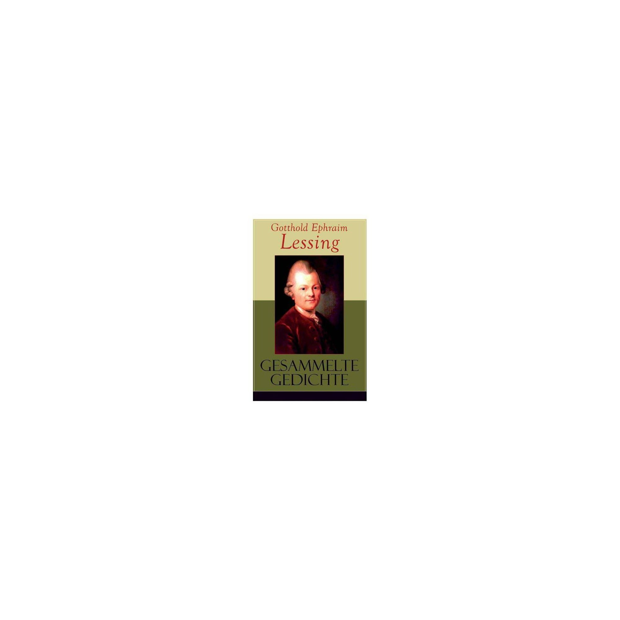 Gesammelte Gedichte By Gotthold Ephraim Lessing Paperback